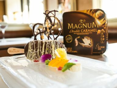 PHOTO: Magnums take on a fashion-forward dessert.