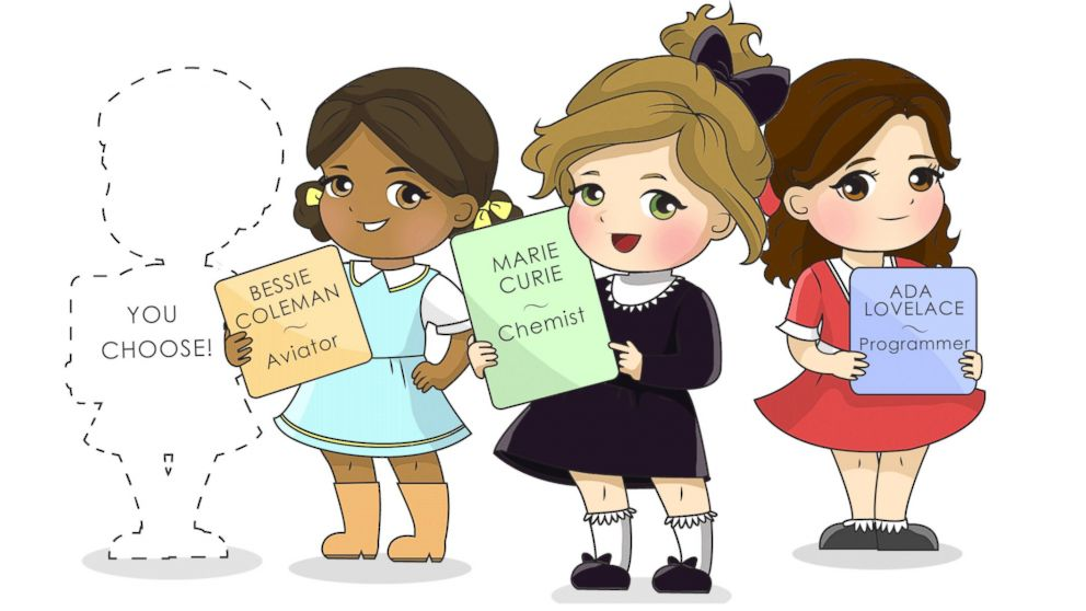 PHOTO: A new line of dolls aims to inspire little girls.