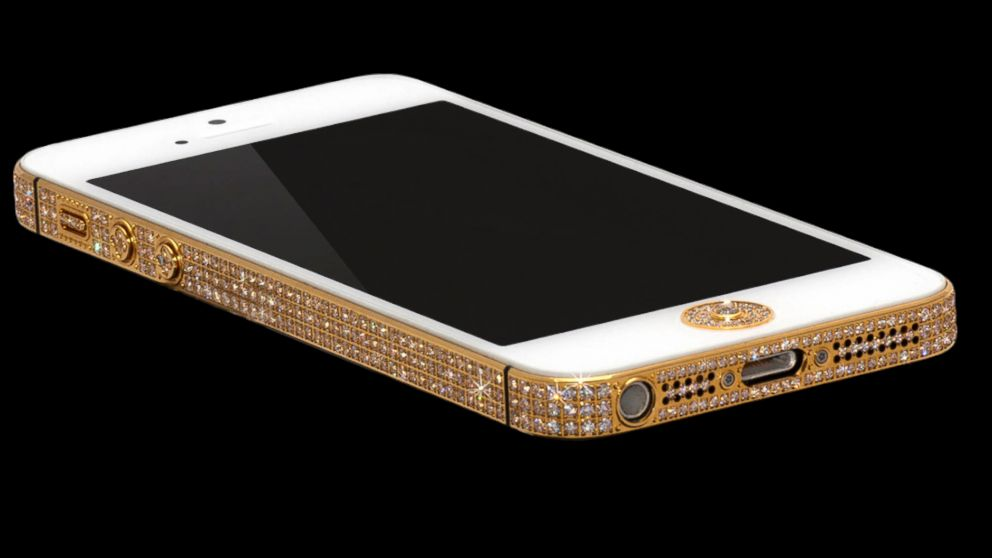 PHOTO: This $1 million iPhone 5 is available from Alchemist London. There are only two in the world for sale.