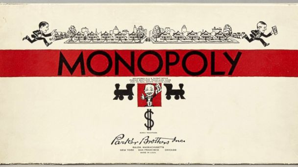 PHOTO: Monopoly Game (1935)