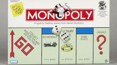 PHOTO: Monopoly 1996 Game