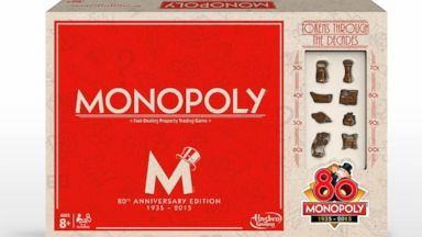 PHOTO: Monopoly 80th Anniversary Game package