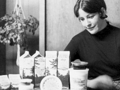 PHOTO: Nancy Hamren based the original Nancys yogurt off of a sour-cream-like recipe that belonged to her grandmother. Then she added acidophilus.