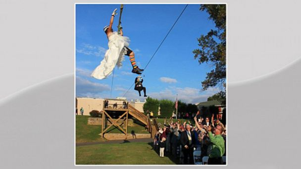 HT nc zip line wedding lpl 130930 16x9 608 Instant Index: Props From Breaking Bad Up for Auction, Zipline Wedding
