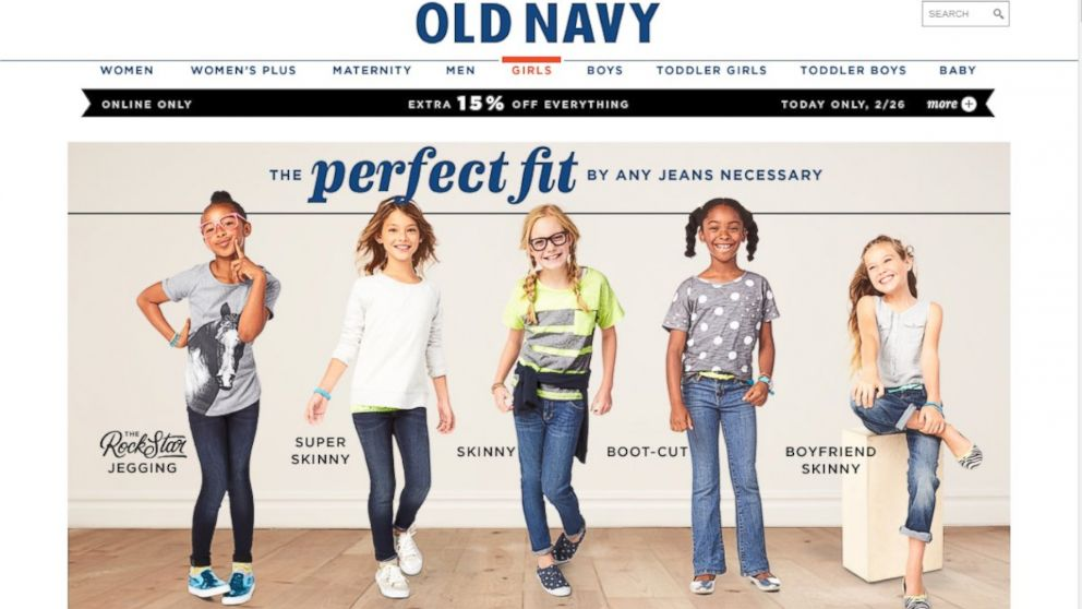 Should Old Navy Advertise 'Boyfriend' Jeans to Kids? - ABC News