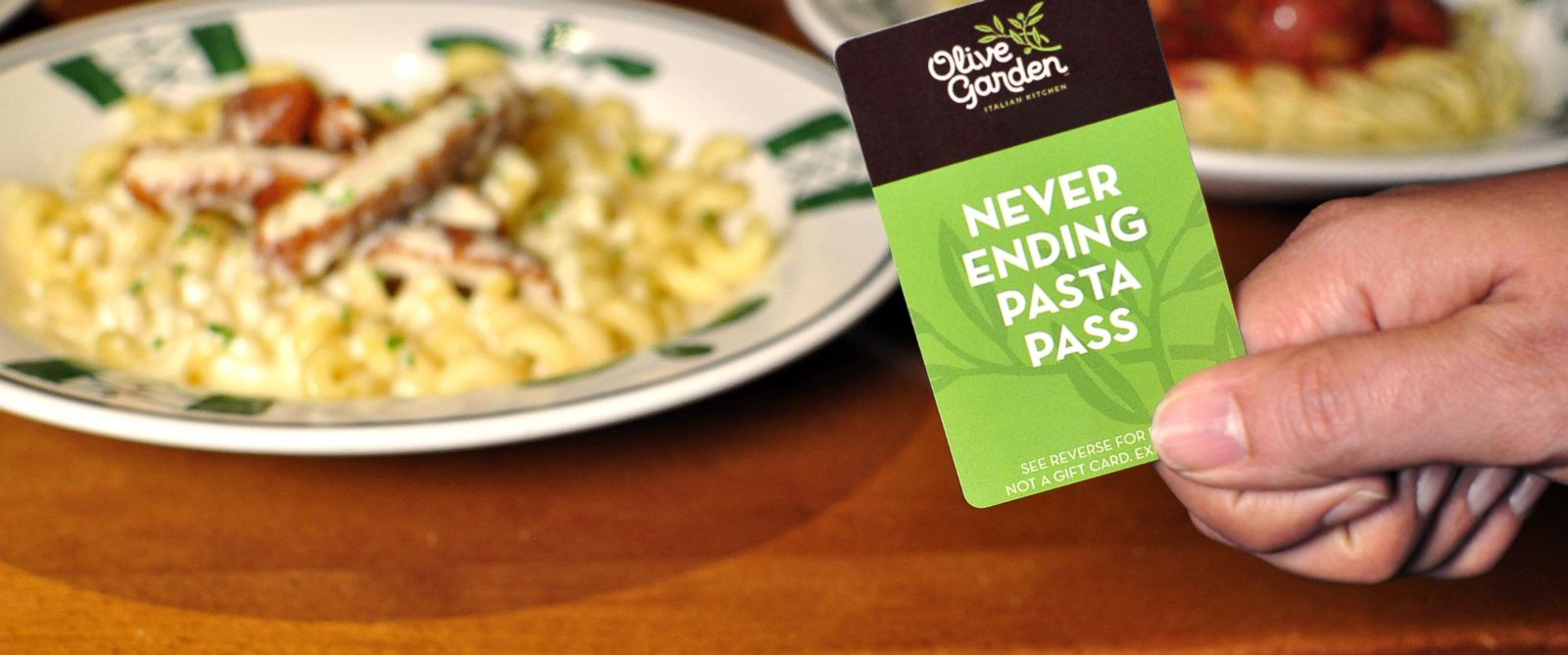 Olive Garden Never Ending Pasta P 7 Weeks Of All You Can Eat