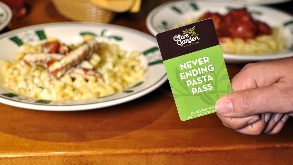 Should You Olive Garden S 100 Never Ending Pasta P Abc News