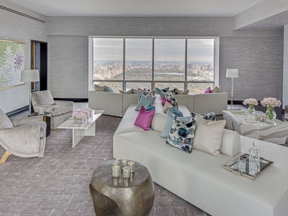 What the most expensive apartment in new york city will for Living in a model apartment