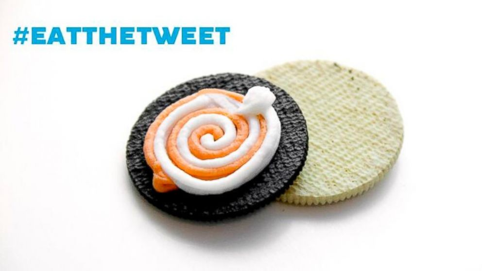 PHOTO: An Oreo made from the Trending Vending Oreo machine at South by Southwest, posted to Twitter, March 10, 2014.