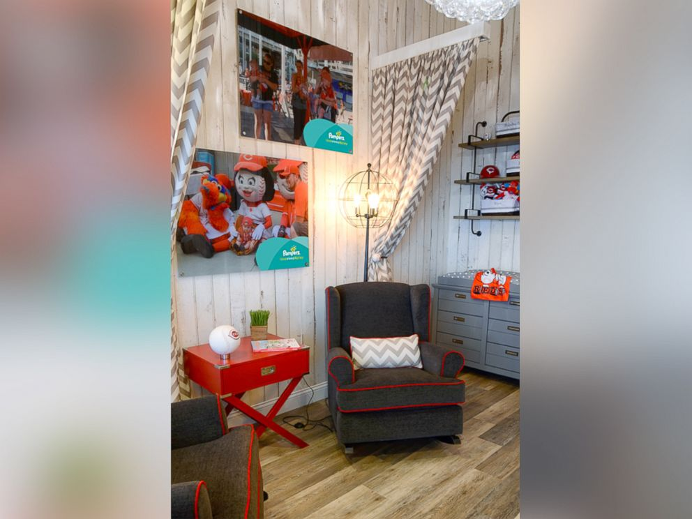 PHOTO The Pampers Nursing Suite Built By Fischer Homes Is Located On Level