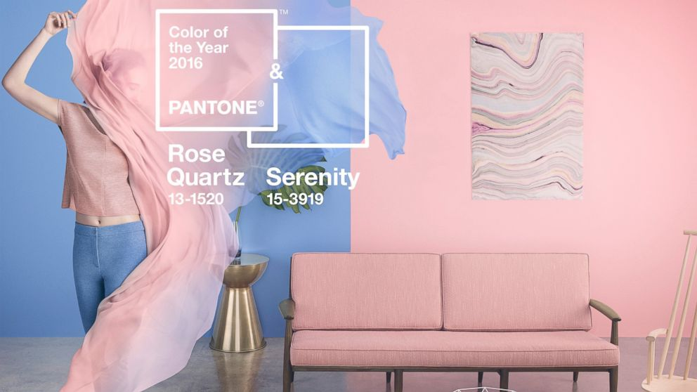 Pantone Color Of The Year pantone color of the year 2016 is blend of serenity and rose