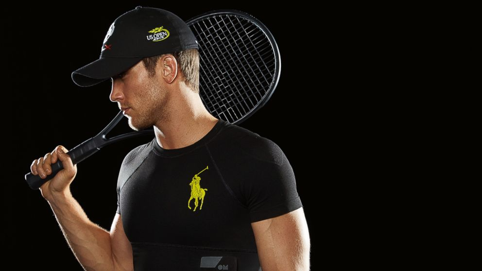 PHOTO: The Polo Tech Shirt captures biological and physiological information.