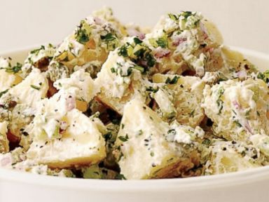 PHOTO: Food & Wines Memorial Day recipe for Potato Salad with Hummus-Yogurt Dressing.