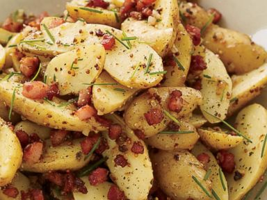 PHOTO: Food & Wines Memorial Day recipe for Warm Potato Salad with Panc