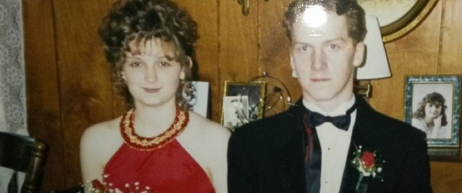 PHOTO: Jennifer Keaton and her date before their senior prom in Pennsylvania in 1994.