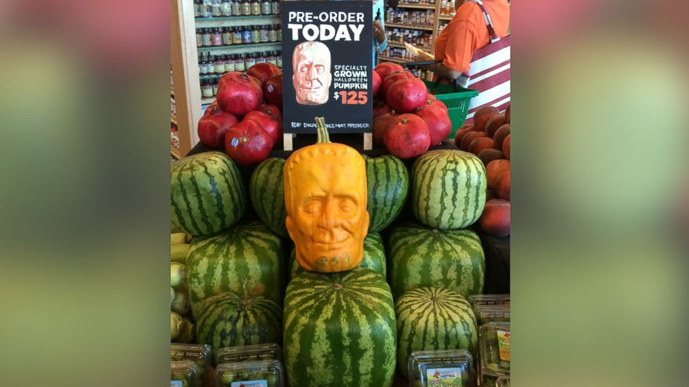 pumpkins grown in a special mold sell for up to $125 each ...