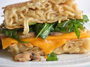 PHOTO: Ramen grilled cheese is the next food mash-up innovation.