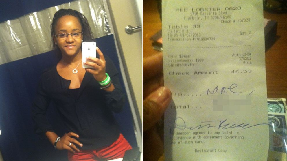 Tennessee Man Denies Writing N-Word on Red Lobster Receipt - ABC News