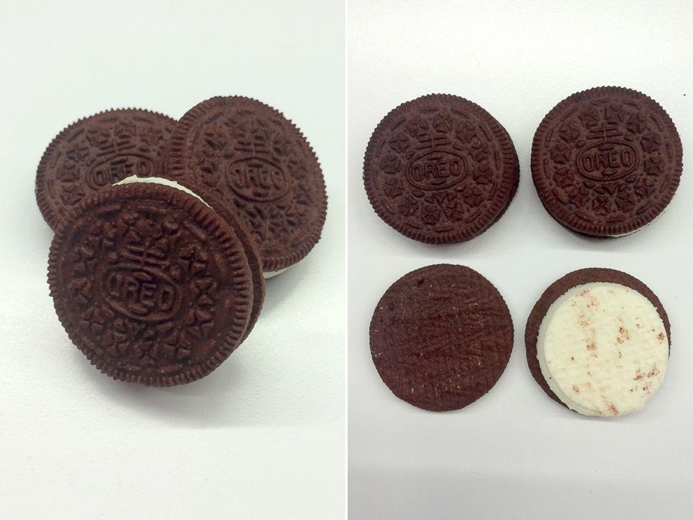 PHOTO: Oreos new Red Velvet flavor has a cream cheese creme center.