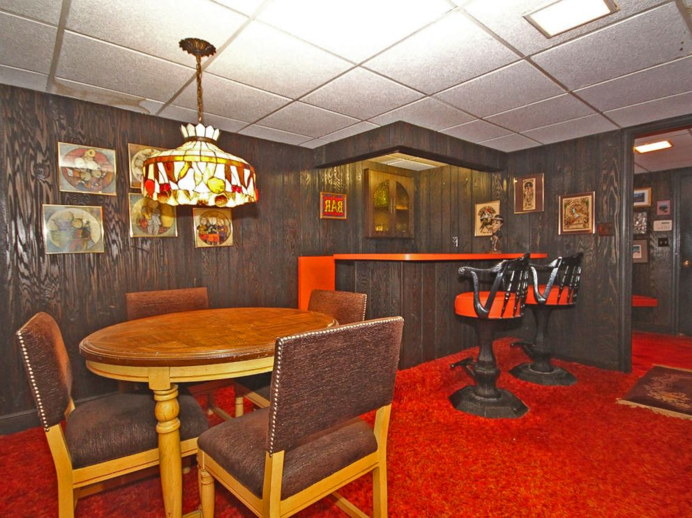 Groovy 1970s home for sale includes original funky decor for Home decorations on sale