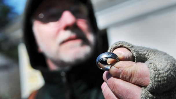 HT ring found mar 140424 16x9 608 Canadian Mans Lost Ring Found in Box of Screws in Maine