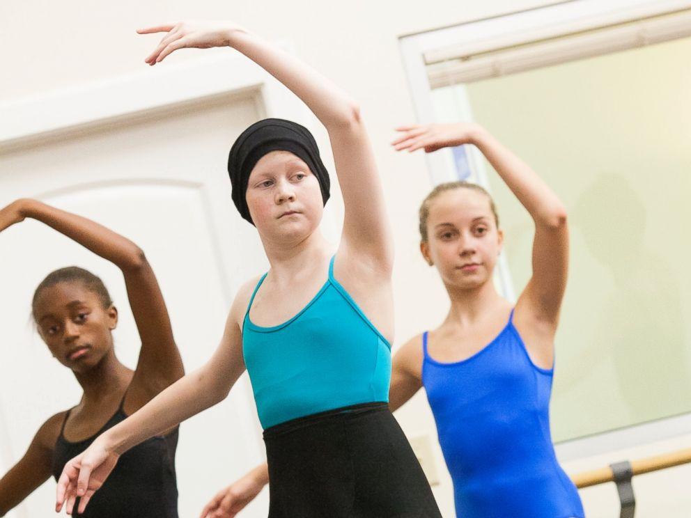 PHOTO: 13-year-old Peyton Richardson is an aspiring ballerina who is fighting high-risk acute lymphocytic leukemia.