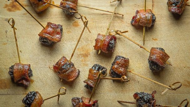 PHOTO: Bacon-Wrapped Blue Cheese Stuffed Dates