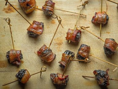 PHOTO: Bacon-Wrapped Blue Cheese