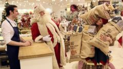 PHOTO: Selfridges launches its Christmas shop this week.
