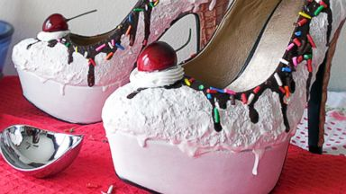 PHOTO: Shoe Bakerys Kicks Look Like Cake