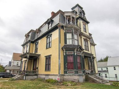 PHOTO: Robert Conti, 40, of Manalapan, New Jersey purchased the SK Pierce Haunted Victorian Mansion July 2015. The home was built in 1875 by Sylvester Knowlton Pierce.