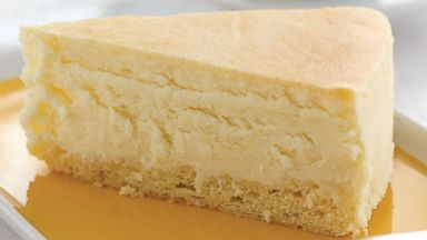 PHOTO: A slice of Juniors cheesecake.