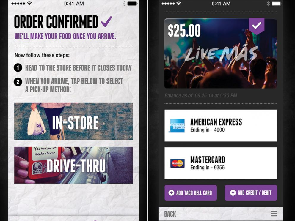 PHOTO: Taco Bell announced its new mobile ordering app, Oct. 28, 2014.