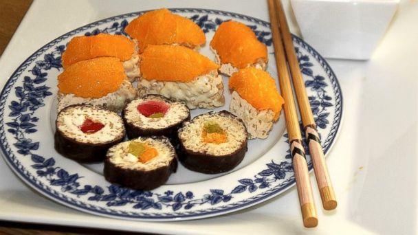 PHOTO: Tastemades sweet sushi.