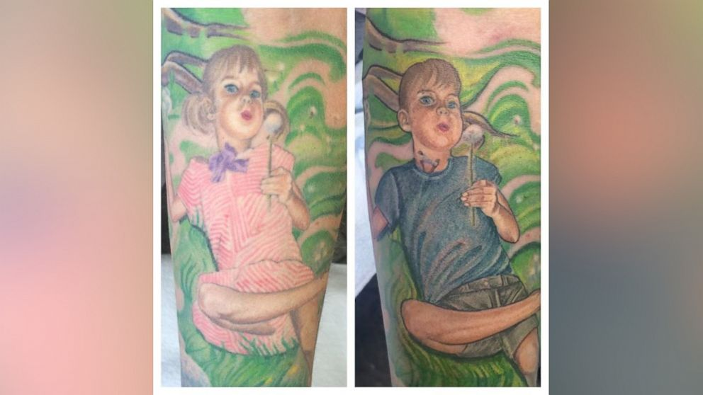 Woman Transforms Tattoo of Trans Son to Match His Identity