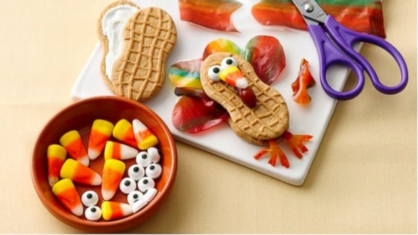 HT thanksgiving crafts family sk 131122 16x9 608 Thanksgiving Craft Idea for Kids: Make Fruity Feather Turkeys