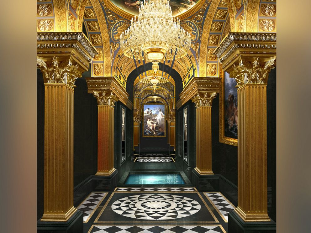 PHOTO: The 13 Hotel in Macau offers a roman bath where six to eight guests can relax.