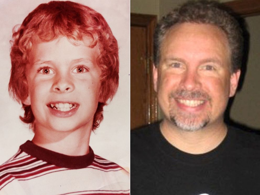 PHOTO: Robert Wright, left at around age 12 and right in his 40s, left a time capsule behind in 1978 that has now been found.