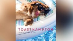 "PHOTO: Toast the dog is featured in the new photo book, ""ToastHampton: How to Summer in Style."""