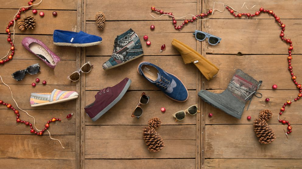 PHOTO: TOMS shoes and eyewear