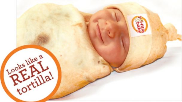 HT tortilla baby 1 sr 131210 16x9 608 Baby Burritos Cute Enough to Eat, But Dont Do That