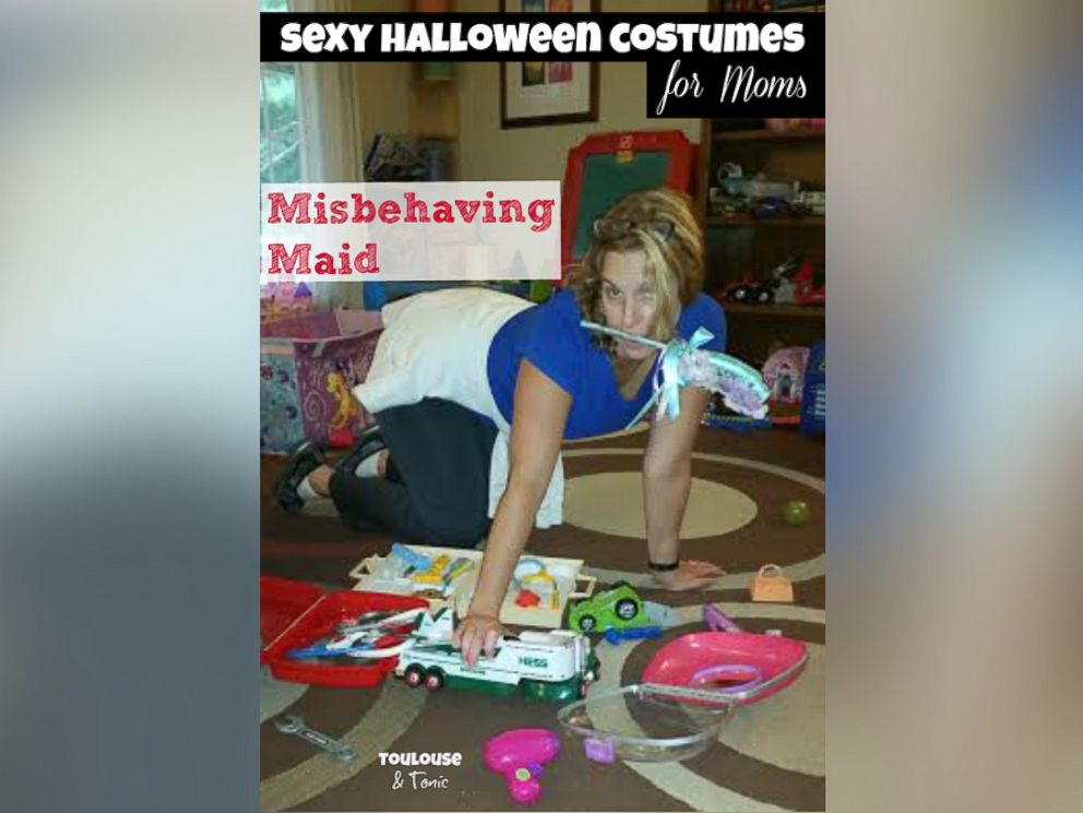 PHOTO Toulouse u0026 Tonics Misbehaving Maid Costume  sc 1 st  ABC News : mommy to be halloween costumes  - Germanpascual.Com