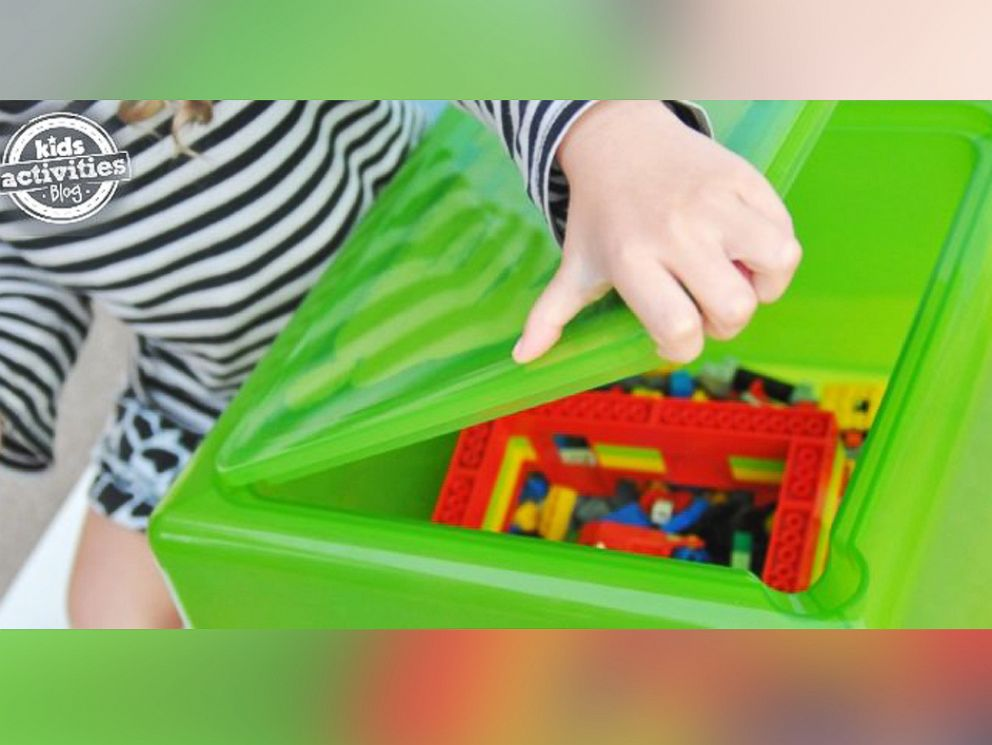 Toy Story Stool : Minute organization hacks for your kid s room abc news