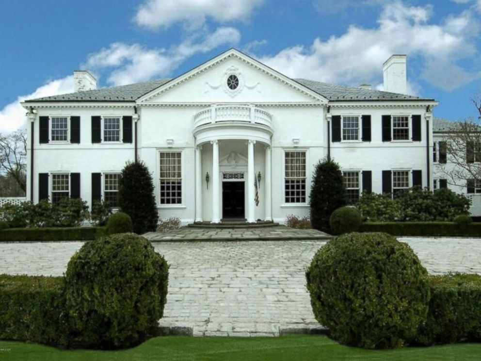 Georgian Colonial Mansion asking price for donald trump's former connecticut mansion drops
