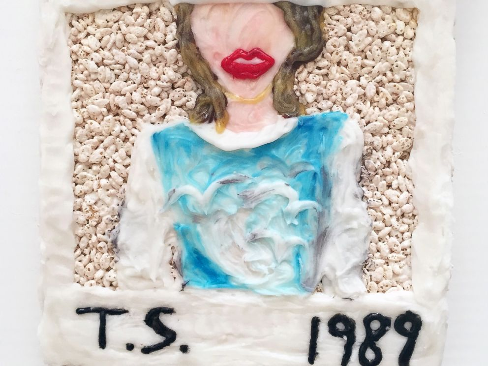 PHOTO: Taylor Swifts latest album cover takes over the Misterkrisp canvas.