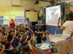 PHOTO: Students at Willard Elementary School in Ridgewood, New Jersey take a virtual field trip