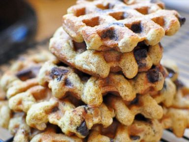 PHOTO: Chocolate Chip Cookie Waffles