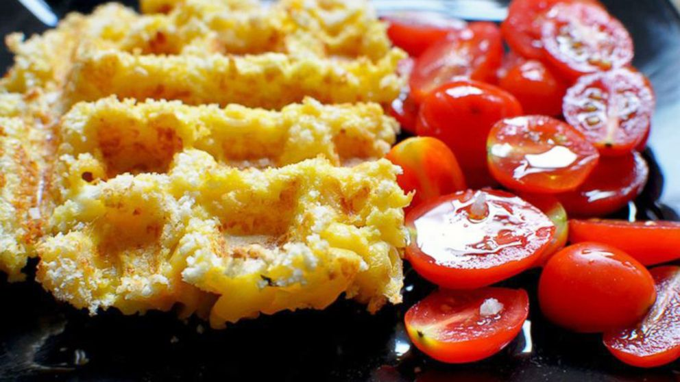 Mac and Cheese Waffles Recipe | Waffleizer | Recipe - ABC News