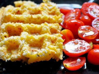 PHOTO: Mac and Cheese Waffles