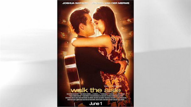 HT walk the line poster gray nt 130729 16x9 608 Couple Creates Silver Screen Themed Wedding Posters